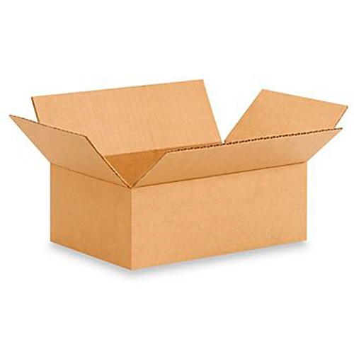 18645e9d15d 7x4x2.5 Inch Brown Corrugated Box